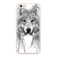 Чехол накладка для iPhone 5 / 5s / SE волк