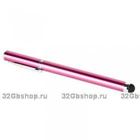 Стилус-ручка для iPhone 5 розовый