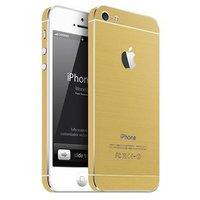 Золотая наклейка на iPhone 5 / 5s / SE Gold Color Sticker Kit