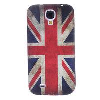 Силиконовый чехол для Samsung Galaxy S4 mini флаг Великобритании ретро