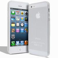 Супертонкий чехол Mobi Cover для iPhone 5s / SE / 5 - Ultra Thin Slim Matte Case 0.3mm белый