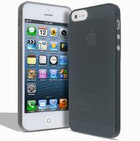 Супертонкий чехол Mobi Cover для iPhone 5s / SE / 5 - Ultra Thin Slim Matte Case 0.3mm черный