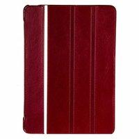 Кожаный чехол с белой полосой Borofone для iPad Air - Borofone Grand series Leather case Red