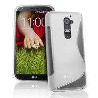 Силиконовый чехол для LG G2 D802 - S Line Wave Case Clear прозрачный