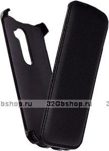 Чехол книга Armor Case для LG G2 D802 черный