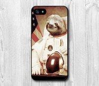 Чехол накладка для iPhone 5s / SE / 5 космонавт