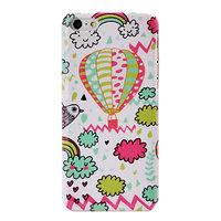 Пластиковый чехол накладка для iPhone 5c воздушный шар - Balloons and Сlouds Pattern Case