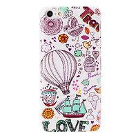 Пластиковый чехол накладка для iPhone 5c воздушный шар - Balloon and Love Pattern Case