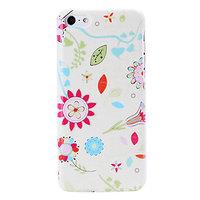 Пластиковый чехол накладка для iPhone 5c много цветов - Florals Pattern Case