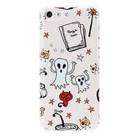 Пластиковый чехол накладка для iPhone 5c привидения - Small Ghosts  Pattern Case