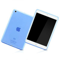 Силиконовый чехол для iPad Air 5 голубой Smart Silicone Back Cover Blue