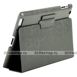 Чехол Mobi Cover для iPad 4/ 3/ 2 серый