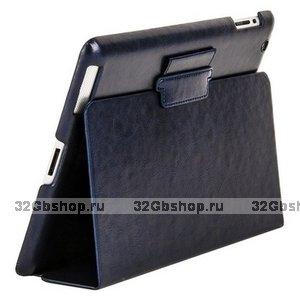 Чехол Mobi Cover для iPad 4/ 3/ 2 тёмно-синий
