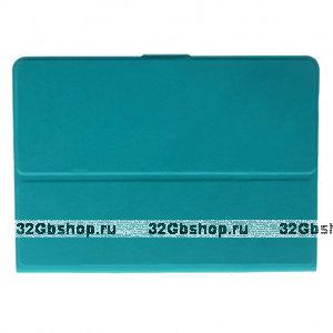 Чехол книга Mobi Cover Smart Case 360 для iPad Air с вращающейся задней накладкой бирюзовый