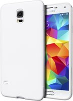 Ультратонкий чехол для Samsung Galaxy S5 i9600 белый - Ultra Thin White Case for Samsung S5
