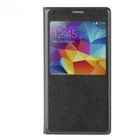 Черный чехол с окошком для Samsung Galaxy S6 - S View Cover Type Black Samsung S6