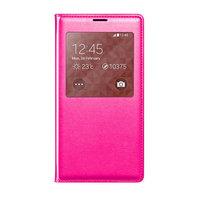 Чехол-обложка c окном S View Pink для Samsung Galaxy S5 розовый