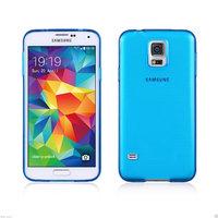 Силиконовый чехол для Samsung Galaxy S5 - Slim Silicone Case Blue - синий