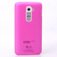 Ультратонкий розовый матовый чехол для LG Optimus G2 0.3mm Ultra Thin Slim Matte Case Pink