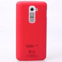 Ультратонкий красный матовый чехол для LG Optimus G2 0.3mm Ultra Thin Slim Matte Case Red