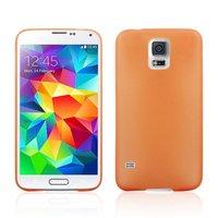 Ультратонкий чехол для Samsung Galaxy S5 mini оранжевый - Ultra Thin Orange Case