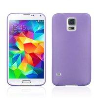 Ультратонкий чехол для Samsung Galaxy S5 mini фиолетовый - Ultra Thin Purple Case