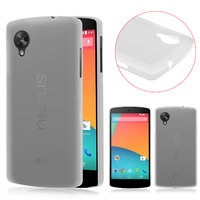 Ультратонкий чехол для Google Nexus 5 белый - 0.3 mm Ultra Thin Matte White Case