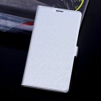 Чехол книга для Samsung Galaxy S5 серебряный - Silk Grain Book Case Silver