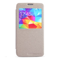 Чехол c окном Nillkin Sparkle Leather Case Gold для Samsung Galaxy S5 золотой