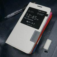 Белый чехол с окном S View Window White Case для Samsung Galaxy S5