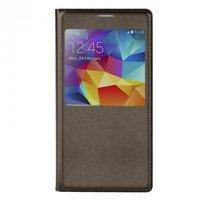 Чехол с окошком S View Cover Type Grey для Samsung Galaxy S5 серый