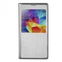 Чехол с окошком S View Cover Type Silver для Samsung Galaxy S5 серебристый