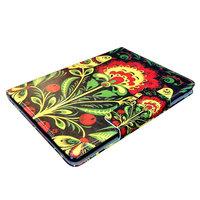 Чехол книга для iPad Air - Mobi Cover Smart Case с узором цветы