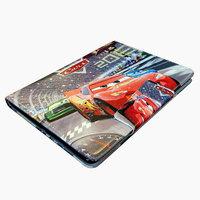 Чехол книга для iPad Air - Mobi Cover Smart Case тачки
