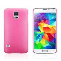 Ультратонкий чехол для Samsung Galaxy S5 mini розовый - Ultra Thin Pink Case