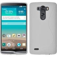 Белый силиконовый чехол для LG G3 - Type S Line Case White