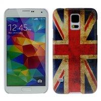 Силиконовый чехол для Samsung Galaxy S5 ретро флаг Великобритании