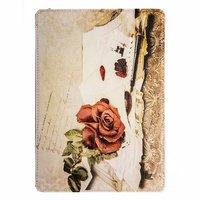 Чехол Jisoncase для iPad Air 5 ретро письмо и роза