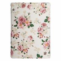 Чехол Jisoncase для iPad Air 5 розовые пионы