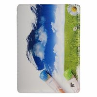 Чехол Jisoncase для iPad Air 5 рисунок небо и трава