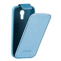 Чехол Kooso для Samsung Galaxy S4 mini i9190/ i9192 Duos - Kooso Flip case Blue