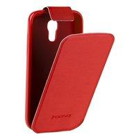 Чехол Kooso для Samsung Galaxy S4 mini i9190/ i9192 Duos - Kooso Flip case Red