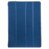 Кожаный чехол Melkco для iPad Air голубой - Melcko Leather Case Slimme Cover Blue LC
