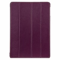 Кожаный чехол Melkco для iPad Air фиолетовый — Melcko Leather Case Slimme Cover Purple LC
