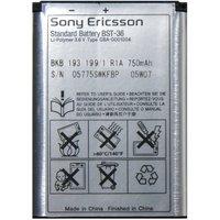 Аккумулятор Sony Ericsson BST-36 для мобильных телефонов Sony Ericsson J300  / K310i / K320i / K510 / Z310i / Z550i