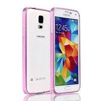 Розовый алюминевый бампер для Samsung Galaxy S5 - 0.7mm Ultra Thin Aluminum Bumper - Pink