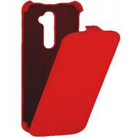 Красный чехол книга Armor Case для LG G2 mini D618