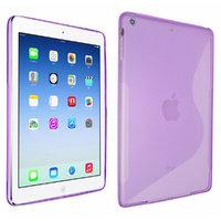 Чехол силиконовый для iPad Air - S Style Case Purple - фиолетовый