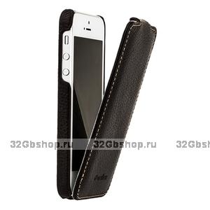 Кожаный чехол Melkco для iPhone 5s / SE / 5 - Jacka Type коричневый