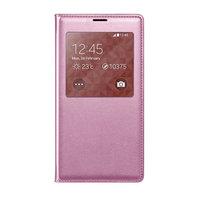 Чехол-обложка c окном S View Light Pink для Samsung Galaxy S5 светло-розовый